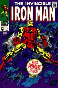 Cover Thumbnail for Iron Man (Marvel, 1968 series) #1