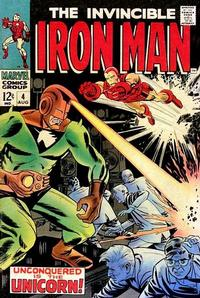 Cover Thumbnail for Iron Man (Marvel, 1968 series) #4
