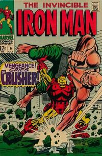 Cover Thumbnail for Iron Man (Marvel, 1968 series) #6