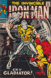 Cover Thumbnail for Iron Man (Marvel, 1968 series) #7