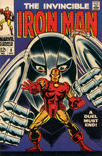 Cover Thumbnail for Iron Man (Marvel, 1968 series) #8