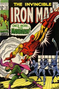 Cover Thumbnail for Iron Man (Marvel, 1968 series) #10