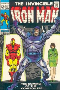 Cover Thumbnail for Iron Man (Marvel, 1968 series) #12