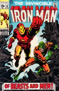 Cover Thumbnail for Iron Man (Marvel, 1968 series) #16