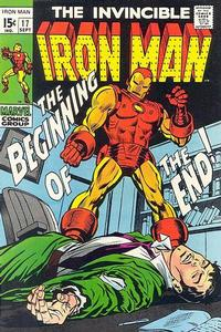 Cover Thumbnail for Iron Man (Marvel, 1968 series) #17