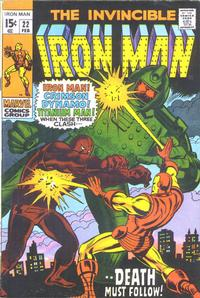 Cover Thumbnail for Iron Man (Marvel, 1968 series) #22 [Regular Edition]