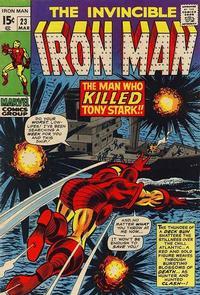 Cover Thumbnail for Iron Man (Marvel, 1968 series) #23 [Regular Edition]