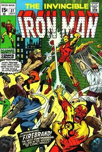 Cover Thumbnail for Iron Man (Marvel, 1968 series) #27