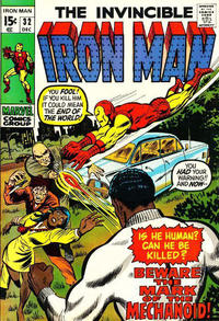 Cover for Iron Man (Marvel, 1968 series) #32