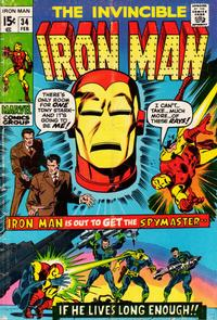 Cover Thumbnail for Iron Man (Marvel, 1968 series) #34