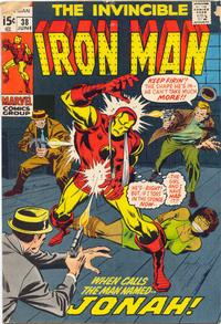 Cover Thumbnail for Iron Man (Marvel, 1968 series) #38