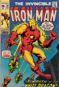 Cover Thumbnail for Iron Man (Marvel, 1968 series) #39 [Regular Edition]