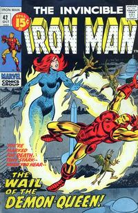 Cover Thumbnail for Iron Man (Marvel, 1968 series) #42 [Regular Edition]