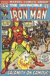 Cover Thumbnail for Iron Man (Marvel, 1968 series) #45