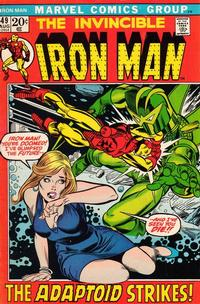 Cover Thumbnail for Iron Man (Marvel, 1968 series) #49 [Regular Edition]