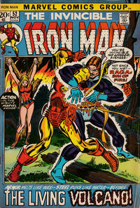 Cover Thumbnail for Iron Man (Marvel, 1968 series) #52 [Regular Edition]