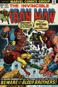 Cover Thumbnail for Iron Man (Marvel, 1968 series) #55 [Regular Edition]