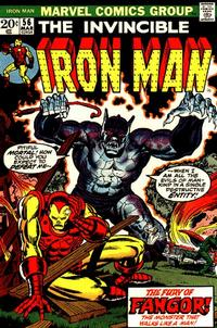 Cover Thumbnail for Iron Man (Marvel, 1968 series) #56 [Regular Edition]