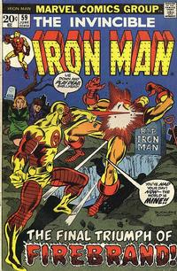 Cover for Iron Man (Marvel, 1968 series) #59 [Regular Edition]