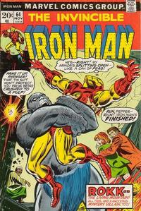 Cover Thumbnail for Iron Man (Marvel, 1968 series) #64 [Regular Edition]