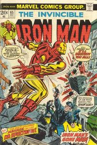 Cover Thumbnail for Iron Man (Marvel, 1968 series) #65 [Regular Edition]