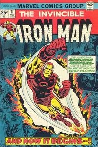 Cover Thumbnail for Iron Man (Marvel, 1968 series) #71
