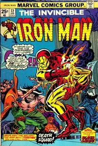 Cover Thumbnail for Iron Man (Marvel, 1968 series) #72 [Regular Edition]