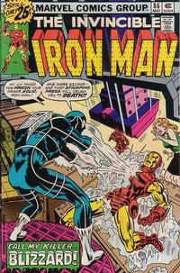 Cover Thumbnail for Iron Man (Marvel, 1968 series) #86 [25¢ Edition]
