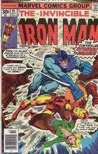 Cover Thumbnail for Iron Man (Marvel, 1968 series) #91