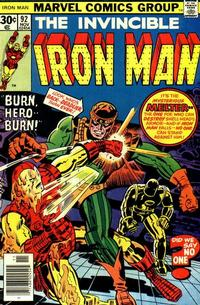 Cover Thumbnail for Iron Man (Marvel, 1968 series) #92 [Regular Edition]