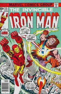 Cover Thumbnail for Iron Man (Marvel, 1968 series) #93