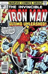 Cover Thumbnail for Iron Man (Marvel, 1968 series) #95