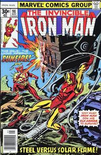 Cover Thumbnail for Iron Man (Marvel, 1968 series) #98 [Regular Edition]