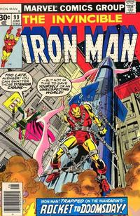 Cover Thumbnail for Iron Man (Marvel, 1968 series) #99 [30¢ Cover Price]