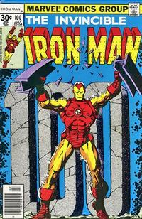 Cover for Iron Man (Marvel, 1968 series) #100 [35 cent cover price variant]