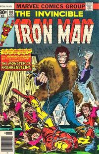 Cover Thumbnail for Iron Man (Marvel, 1968 series) #101 [30¢]