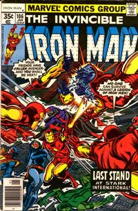 Cover Thumbnail for Iron Man (Marvel, 1968 series) #106