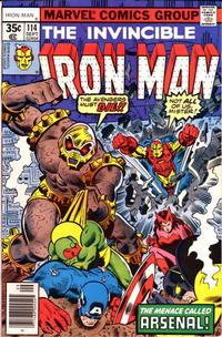 Cover Thumbnail for Iron Man (Marvel, 1968 series) #114