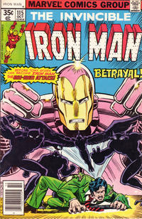 Cover Thumbnail for Iron Man (Marvel, 1968 series) #115