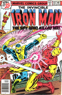 Cover Thumbnail for Iron Man (Marvel, 1968 series) #117