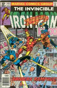 Cover for Iron Man (Marvel, 1968 series) #145 [Direct Edition]