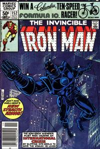 Cover Thumbnail for Iron Man (Marvel, 1968 series) #152