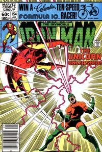 Cover Thumbnail for Iron Man (Marvel, 1968 series) #154 [Newsstand]