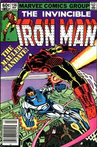 Cover Thumbnail for Iron Man (Marvel, 1968 series) #156