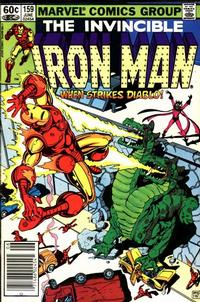 Cover for Iron Man (Marvel, 1968 series) #159