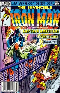 Cover Thumbnail for Iron Man (Marvel, 1968 series) #172 [Newsstand]