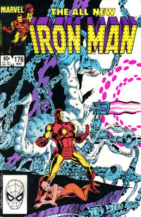 Cover Thumbnail for Iron Man (Marvel, 1968 series) #176 [Direct]