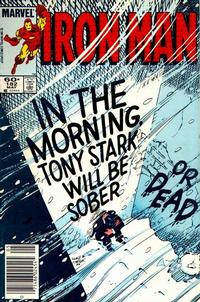 Cover Thumbnail for Iron Man (Marvel, 1968 series) #182 [Newsstand]