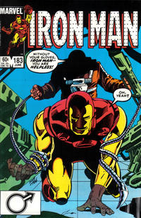 Cover for Iron Man (Marvel, 1968 series) #183