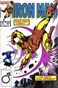 Cover Thumbnail for Iron Man (Marvel, 1968 series) #187 [Direct Edition]